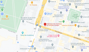 Federation of Belgian Chambers of Commerce on Google Maps
